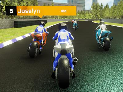 3D Motor Yarışı