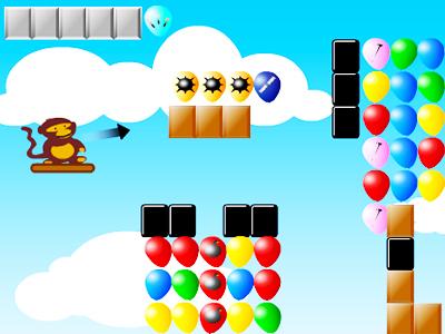 Balon Patlatan Maymun 5