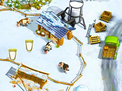 Çiftlik Kasabası: Kış
