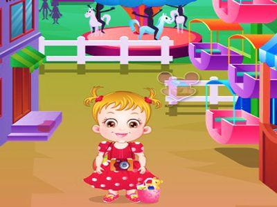 Hazel Bebek Oyun Parkında