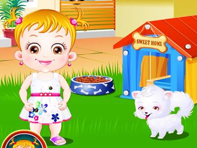 Hazel Bebek ve Köpeği