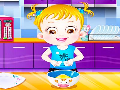 Hazel Bebek Yemek Yapma