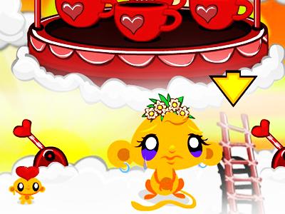 Maymunu Mutlu Et Sevgililer Günü