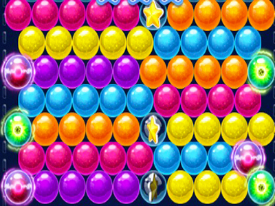 Renkli Balon Patlatma