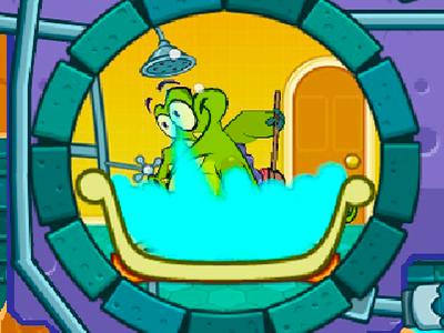 Sevimli Timsah Banyoda