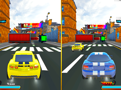 2 Kisilik Araba Yarisi Oyunu Iki Kisi Ayni Bilgisayarda 3d Yaris