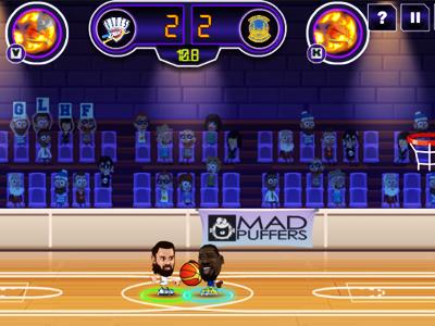 2 Kişilik Basketbol Maçı