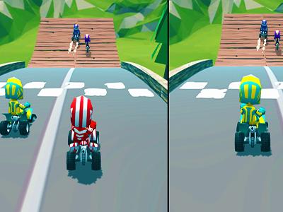 2 Kişilik Motor Yarışı Oyunu 3d Motor Ve 4x4 Atv Yarışı Oyna