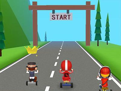 3 Tekerli Bisiklet Yarışı