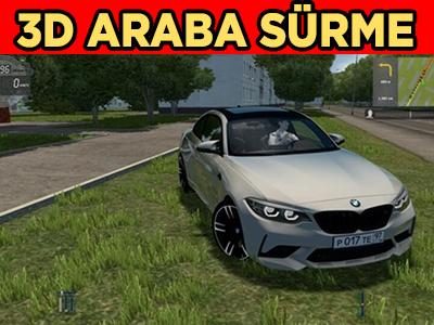 3D Araba Simülatörü 2