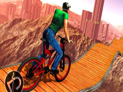 3D Bisiklet Parkuru