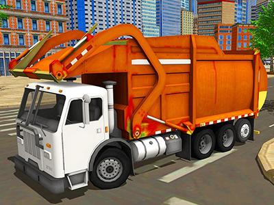 3D Şehir Çöpçüsü