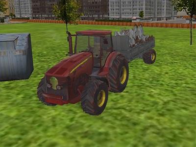 3D Çöp Traktörü