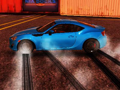 Araba Kaydirma Oyunu 3d Drift Parkurunda Teker Kaydir Oyna