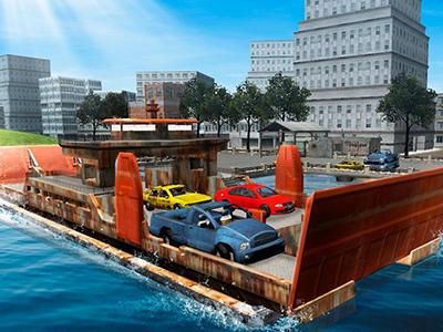 3D Araba Taşıma Gemisi