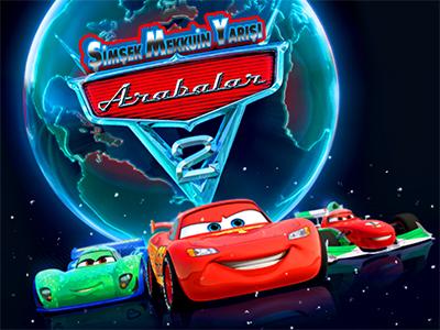 Arabalar 2 şimşek Mekkuin Yarışı Oyunu Araba Oyunları