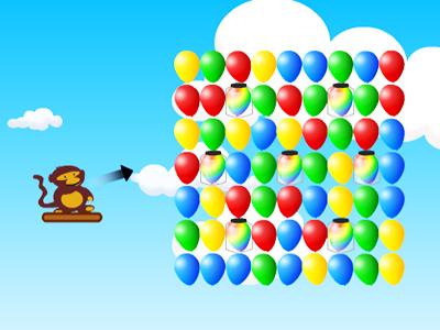 Balon Patlatan Maymun 3