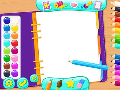 Boyama Yapma Oyunu Yazı Yazma Resim çizme Sayfası