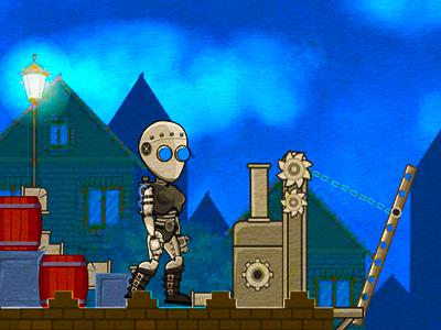 Buharlı Robot