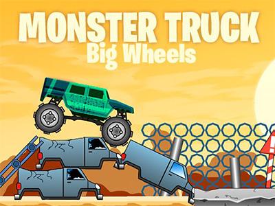 Büyük Tekerlekli Canavar Kamyon