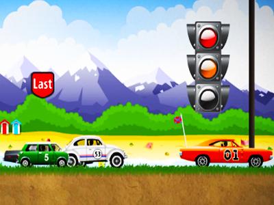 Çılgın Araba Yarışı