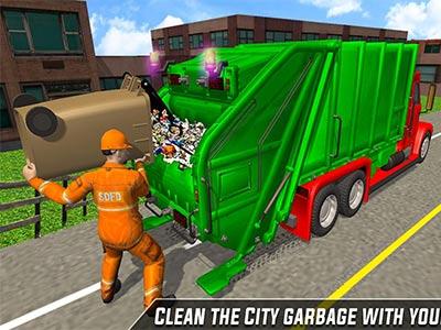 Çöp Arabası Sürme