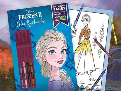 Elsa Renkli Boya Kitabı