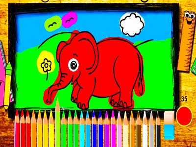 Hayvan Boyama Oyunlari En Guzel Ve Yeni Hayvan Boyama Oyunu Oyna