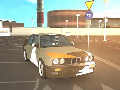 GTR Araba Drift