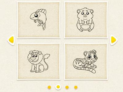 Hayvan Boyama Kitabı 2 Oyunu Hayvanların Resimlerini Boya