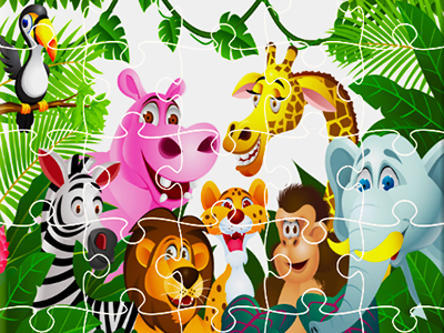 Hayvan Yapbozları 8