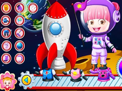 Hazel Bebek Astronot Kıyafeti
