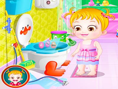 Hazel Bebek Banyo Temizliği