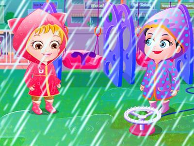 Hazel Bebek İlk Yağmur