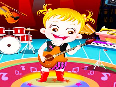 Hazel Bebek Müzik Çalıyor
