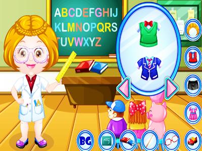 Hazel Bebek Öğretmen Kıyafeti