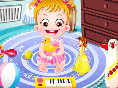 Hazel Bebek Oyun Oynuyor