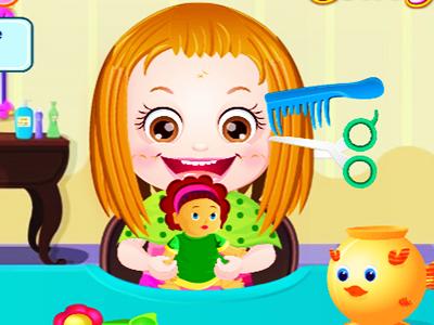 Hazel Bebek Saç Kesimi