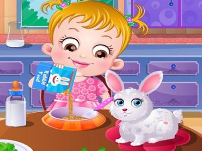 Hazel Bebek Tavşan Bakımı