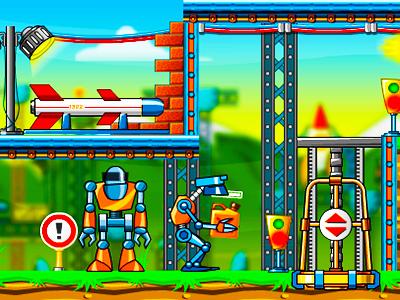 Hirsiz Robot Oyunu Akilli Ve Komik Robot Macerasi