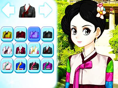 Japon Prensesi Giydirme
