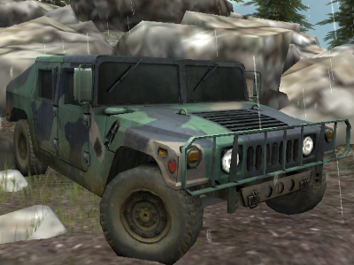4x4 Jeep Offroad