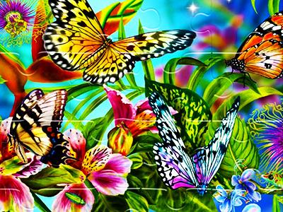 Kelebek Yapbozları 2