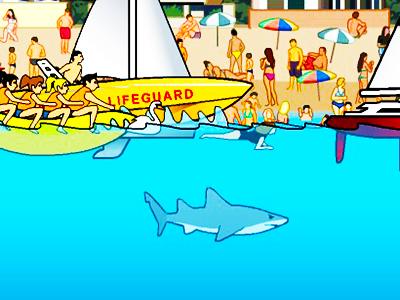Köpekbalığı Saldırısı 6