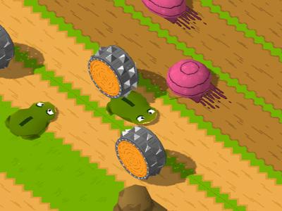 Kurbağa Zorlu Yolda