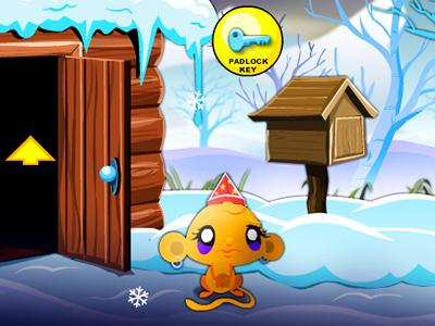 Maymunu Mutlu Et Kış