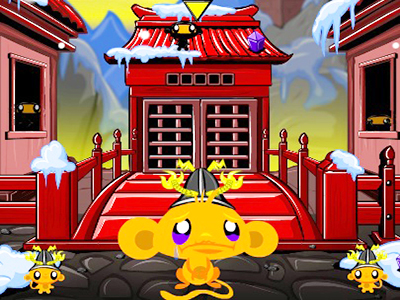 Maymunu Mutlu Et Ninjalar 3