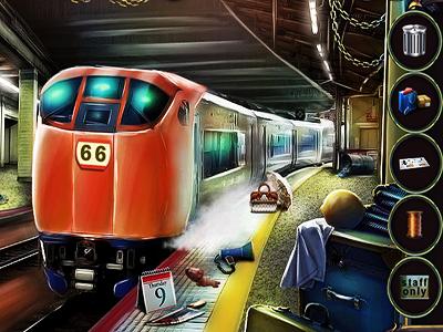Metroda Eşya Bulmaca
