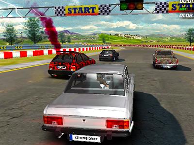 Modifiyeli Araba Yarışı