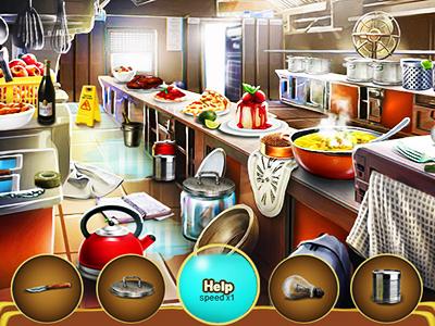 Mutfakta Eşya Bulmaca